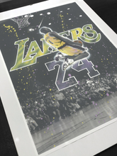 Load image into Gallery viewer, KOBE LAKERS 24 - PRINT