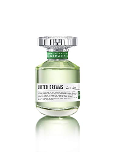 United Colors of Benetton United Dreams Live Free Eau De Toilette, 50ml