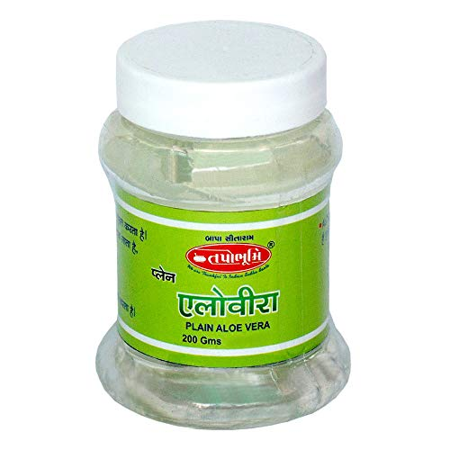 Tapobhumi's Naturals Organic & 99% Pure Soothing Aloe Vera Gel For Face, Skin and Hair200GM
