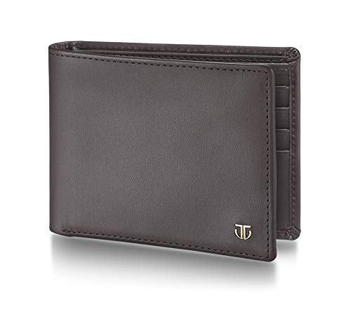 Titan Brown Travel Accessory- Bi-Fold Wallet
