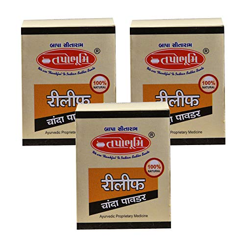 Tapobhumi Ayurvedic- Relif Chanda Powder For Mouth Ulcer Pack of 3
