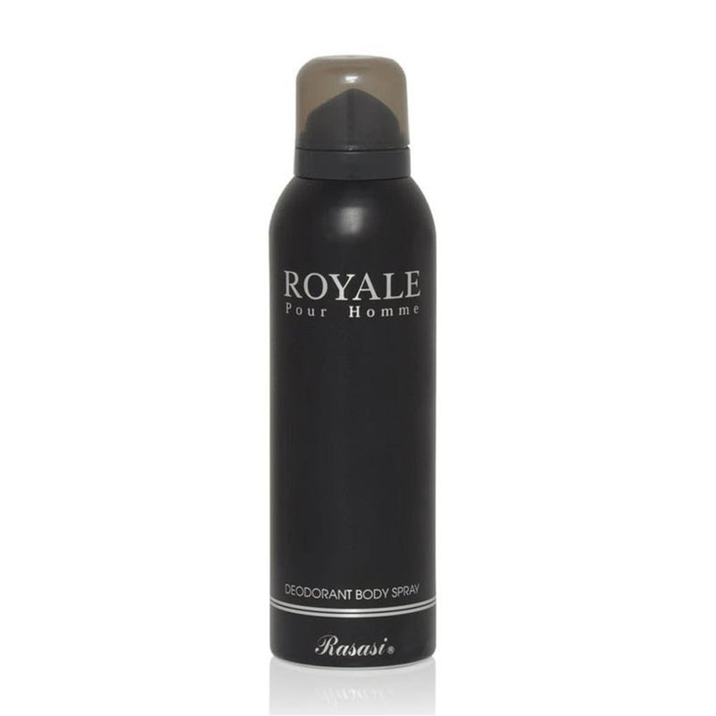Rasasi Deo Royale Black Colour, 200 ml