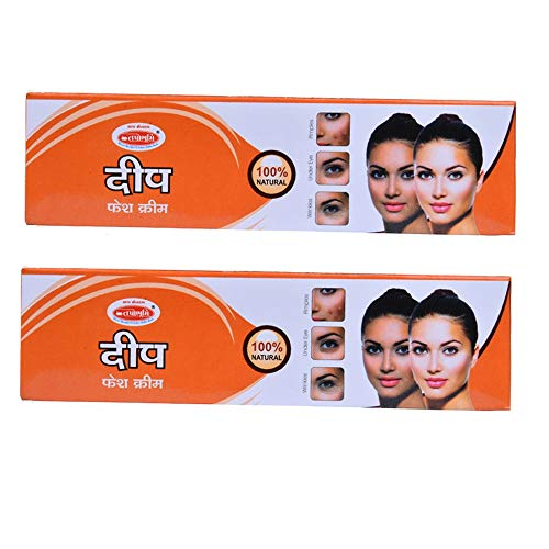 Tapobhumi Herbal Ayurvedic Deep Under Eye Cream - For Dark Circles, Puffiness, Wrinkles and Bags Pack Of 2 (80Gm Per Tube)