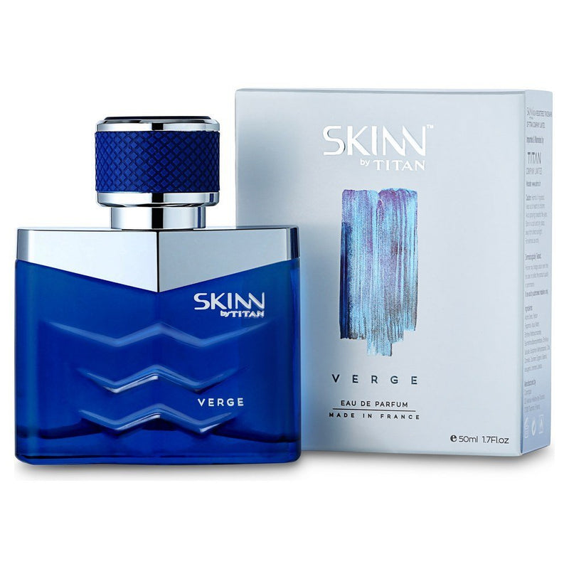 Skinn by Titan FM04PGL Men's Eau de Parfum, Verge, 50ml