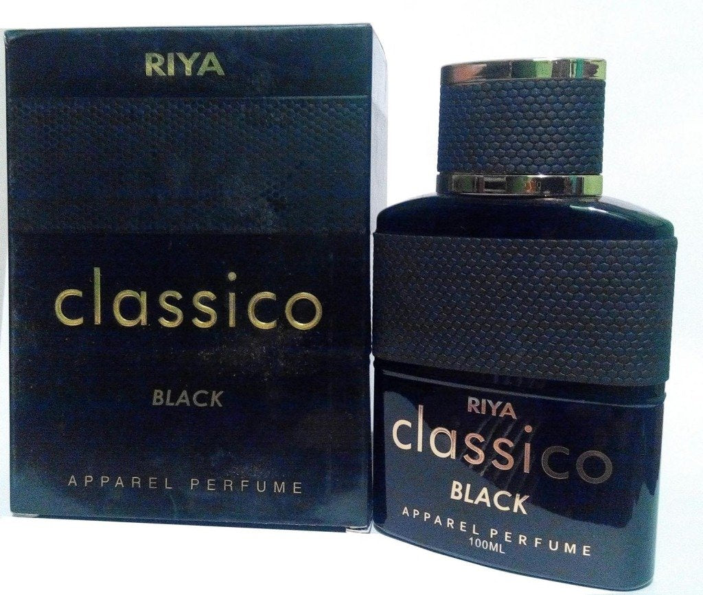 Riya Classico Black Spicy and Fruity Perfume for Men, 100ml