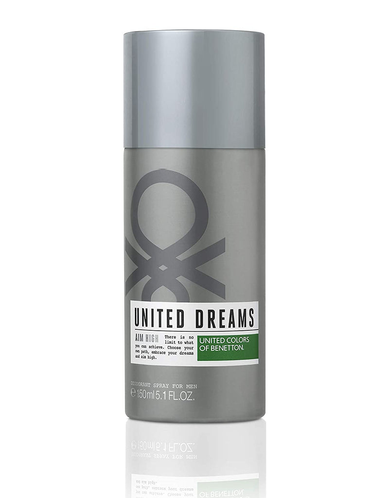 United Colors of Benetton United Dreams Aim High Deodorant, 150ml