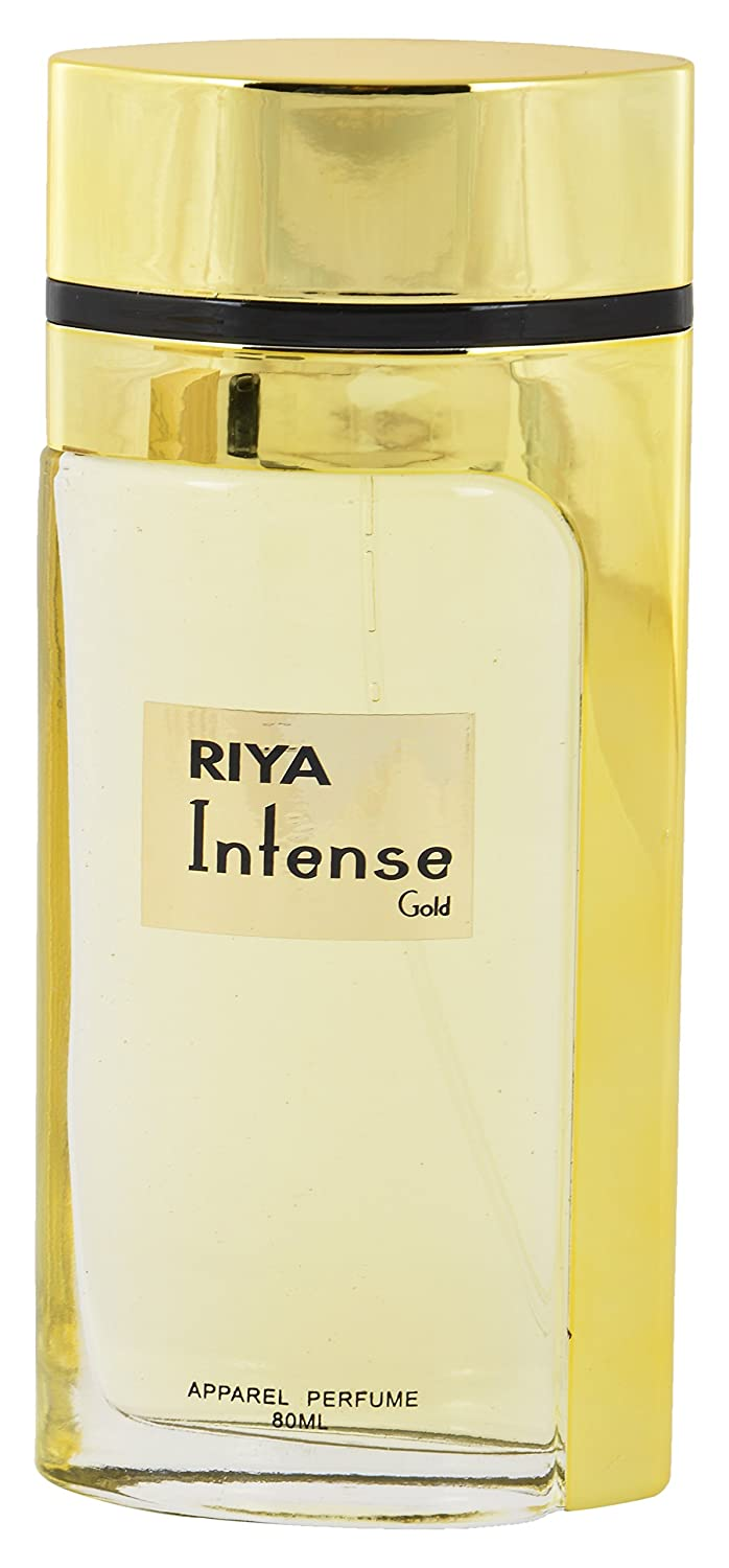 Riya Intense Gold Apparel Perfume, 80 ml
