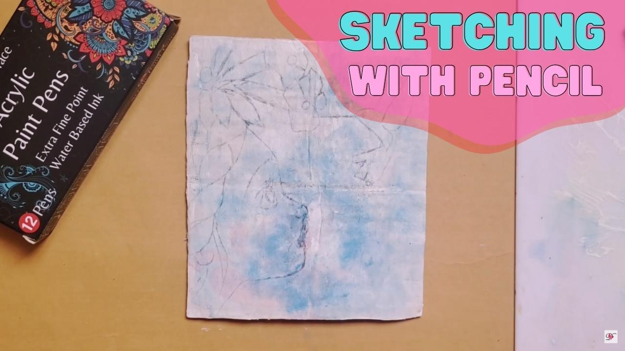 how to use acrylic pens on canvas