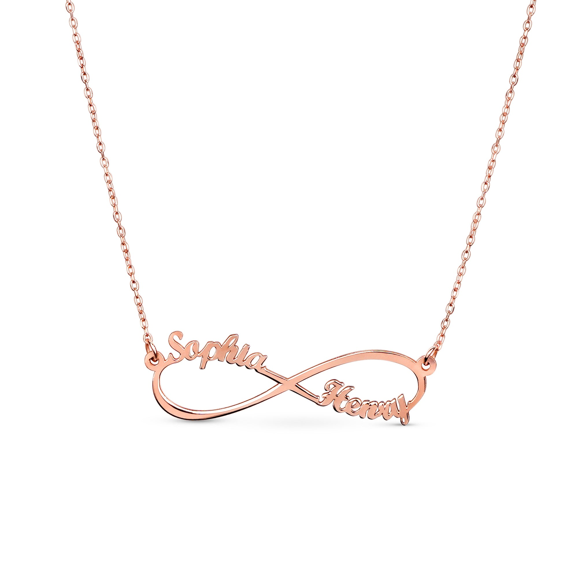 Infiniti Name Necklace