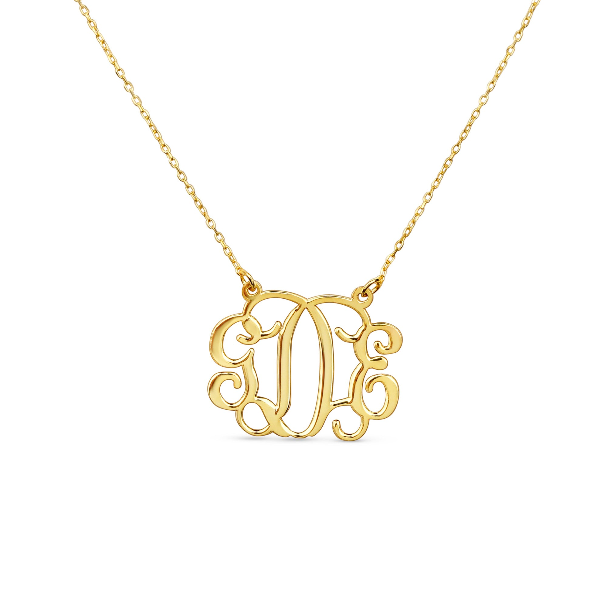 Monogram Name Necklace