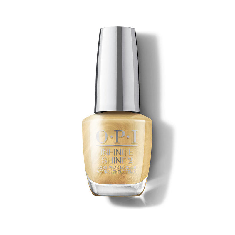 INFINITE SHINE OPI SHINE BRIGHT THIS GOLD SLEIGHS ME