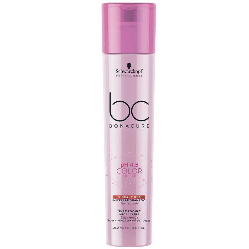BC COLOR FREEZE VIBRANT RED MICELLAR SHAMPOO 250 ML