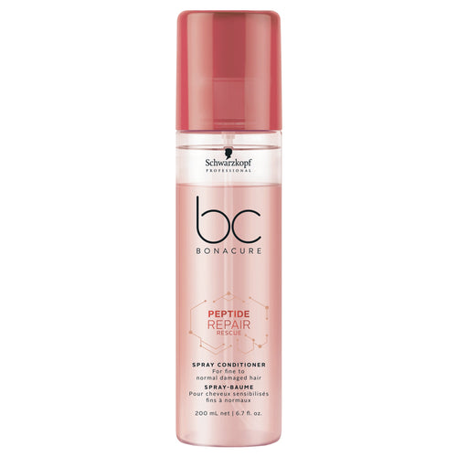 SPRAY ACONDICIONADOR PARA CABELLO BC BONACURE PEPTIDE REPAIR RESCUE 200ML