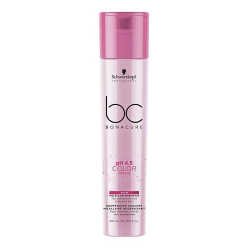 BC BONACURE pH 4.5 COLOR FREEZE MICELLAR RICH SHAMPOO 250ML