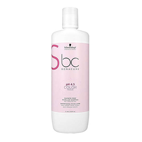 BC BONACURE pH 4.5 COLOR FREEZE MICELLAR SULFATE FREE SHAMPOO 1000ML