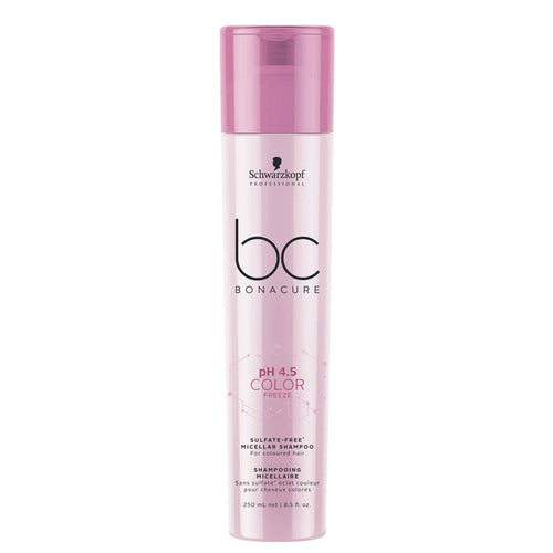 BC BONACURE pH 4.5 COLOR FREEZE MICELLAR SULFATE FREE SHAMPOO 250ML
