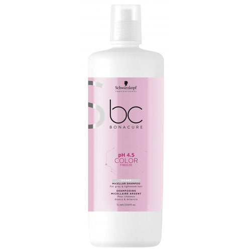 BC BONACURE pH 4.5 COLOR FREEZE SILVER SHAMPOO 1000ML