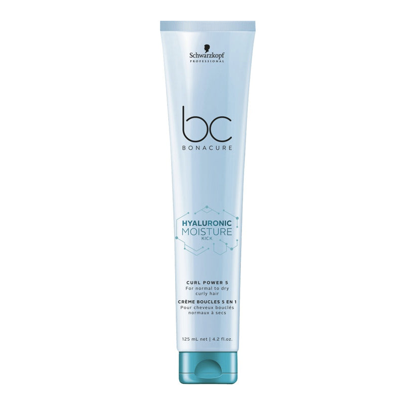TRATAMIENTO PARA RIZOS BC BONACURE HYALURONIC MOISTURE KICK CURL POWER 5 125 ML