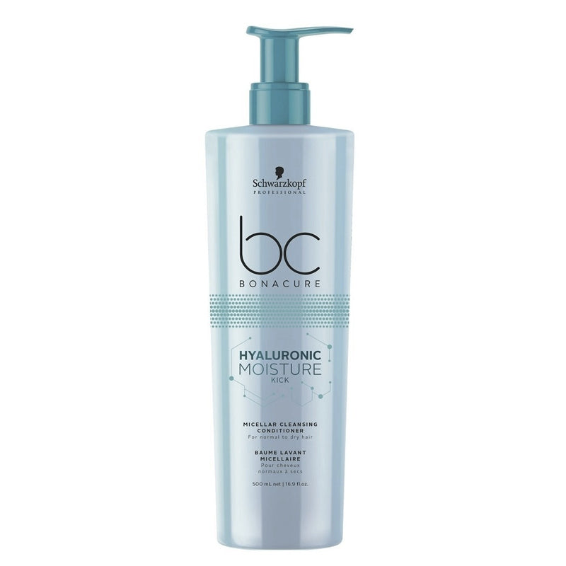 BC BONACURE HYALURONIC MOISTURE KICK MICELLAR CLEANSING CONDITIONER 500 ML