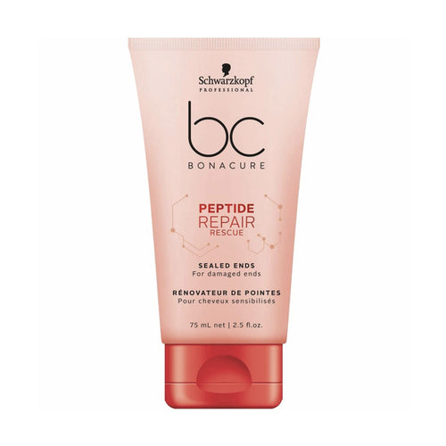 TRATAMIENTO PARA CABELLO ROTO BC BONACURE PEPTIDE REPAIR RESCUE SEALED ENDS 75 ML