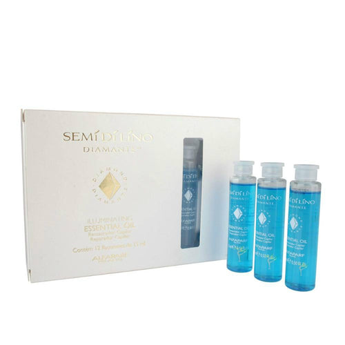 CAJA DE AMPOLLETAS SEMI DI LINO ESSENT OIL 6*13 ML