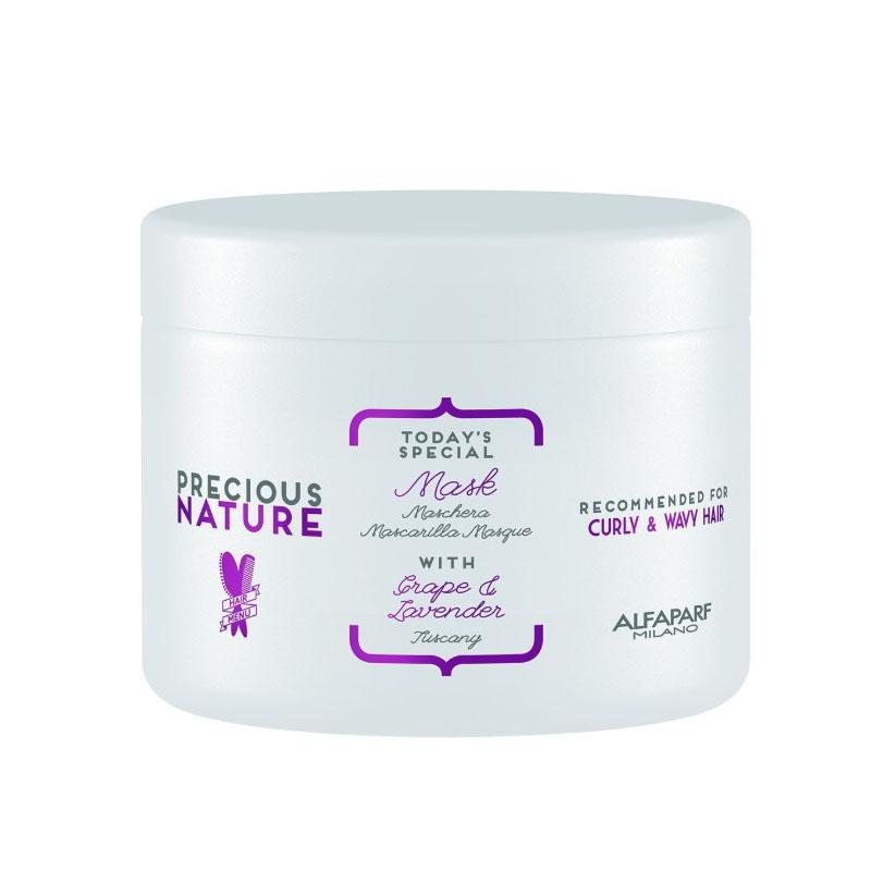MASK [CURLY & WAVY] GRAPE & LAVENDER | PRECIOUS NATURE | VARIOS TAMAÑOS