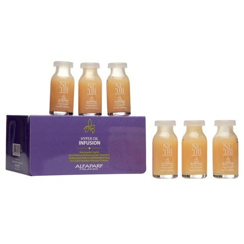 CAJA AMPOLLETAS NUTRISED HYPER OIL INFUS