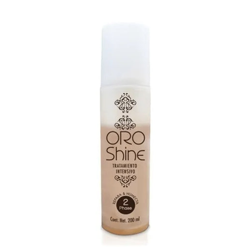 TRATAMIENTO CAPILAR INTENSIVO BIFASE ORO SHINE 200ML