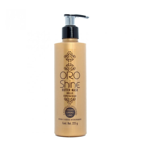 MASCARILLA CAPILAR ORO SHINE BRILLO ESPECTACULAR 225G