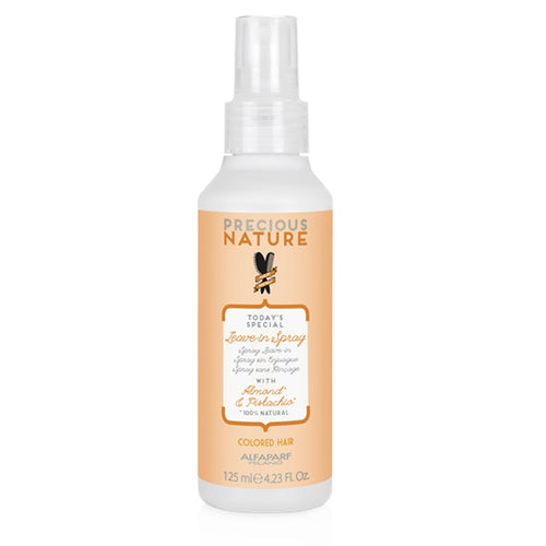 ACONDICIONADOR SIN ENJUAGUE LEAVE-IN SPRAY [COLORED HAIR] ALMOND & PISTACHIO 125ML | PRECIOUS NATURE