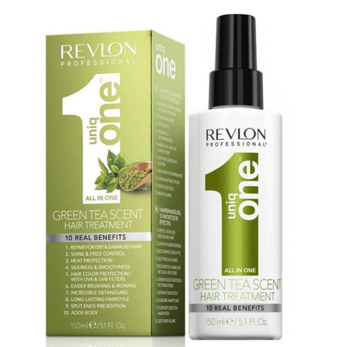 TRATAMIENTO DE TÉ VERDE PARA CABELLO UNIQ ONE GREEN TEA 150 ML