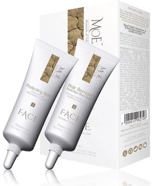 WOMEN FACE HAIR  REMOVAL DUO 2x40ml