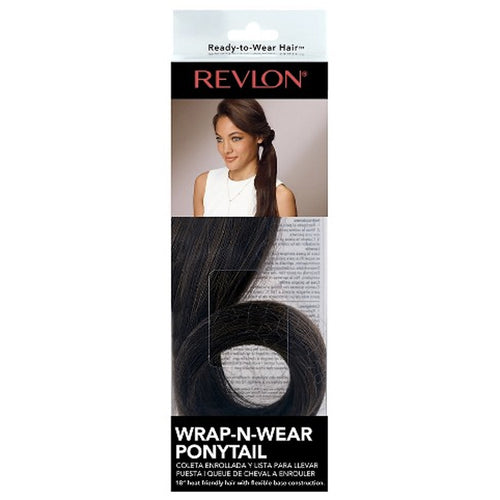 WRAP-N-WEAR PONYTAIL DARK BROWN