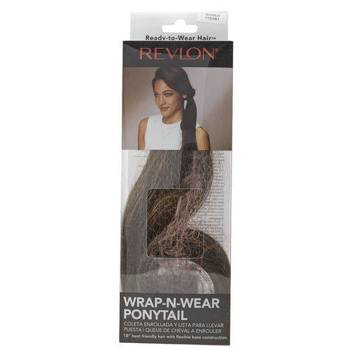 WRAP-N-WEAR PONYTAIL MEDIUM BROWN