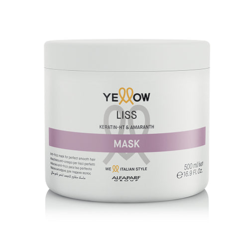 MÁSCARA CAPILAR ANTI FRIZZ YELLOW LISS MASK 500 GR