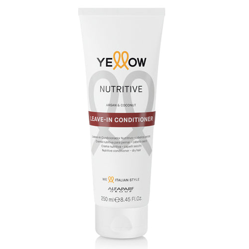 YELLOW NUTRITIVE CONDITIONER LEAVE-IN ARGAN & COCONUT