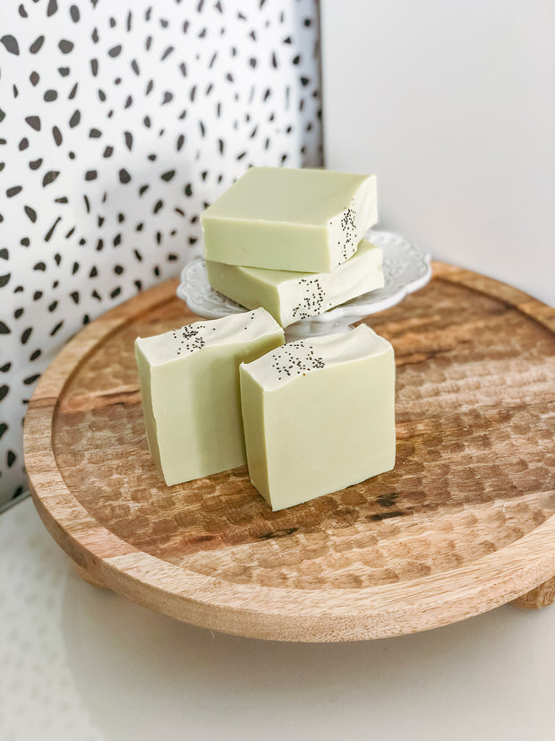 Cypress Rosemary Soap 1