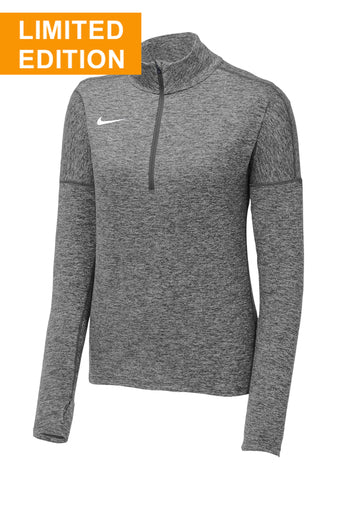 LIMITED EDITION Nike Ladies Dry Element 1/2-Zip Cover-Up - ShirtbucksWholsesale