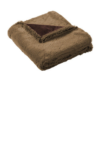 Compost Grow Eat Repeat Faux Furr Blanket