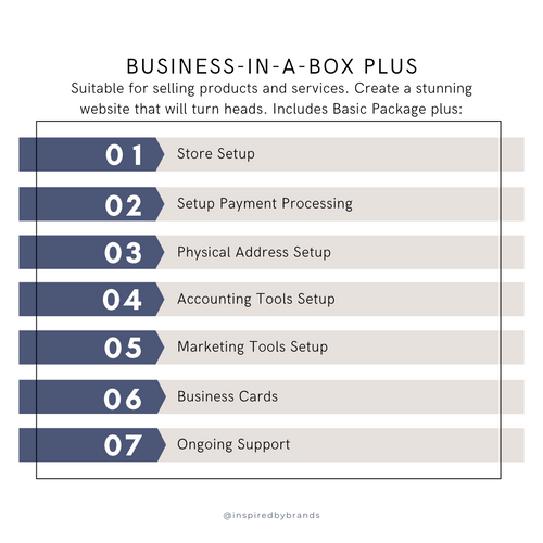 Business-In-A-Box Plus-business development-Inspired By Brands-inspiredbybrands