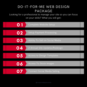 Do-It-For-Me Web Design Package