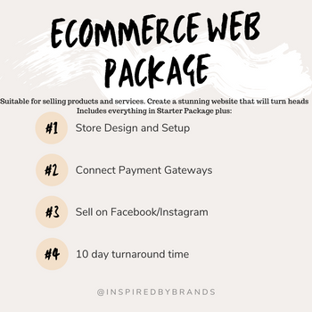 E-Commerce Web Package-Web Design-Inspired By Brands-inspiredbybrands