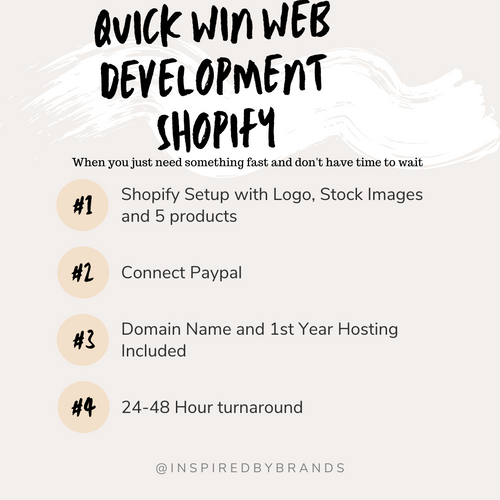 Quick Win Website - Shopify-Web Design-Inspired By Brands-inspiredbybrands