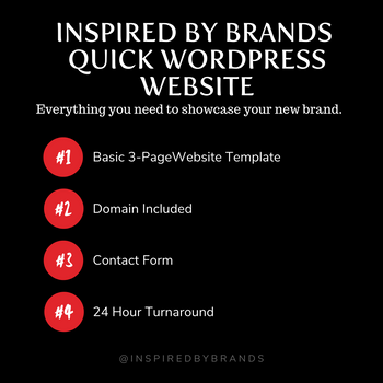 Quick WebSite - Wordpress