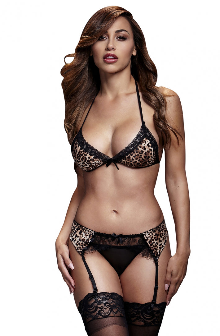 BACI set of underwear with a leopard 50012-14 - Gemjoys Lifestyle