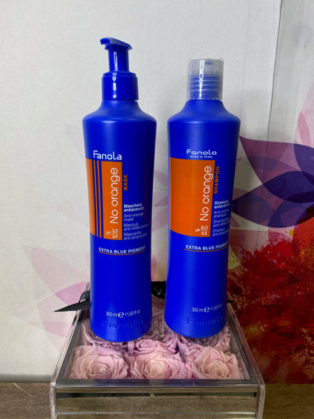 Fanola No Orange Shampoo & Conditioner