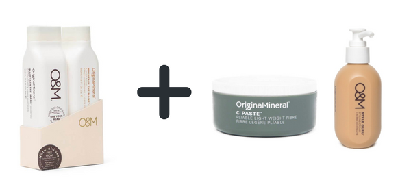 O&M Maintain the mane duo set + C-Paste + Style Guru