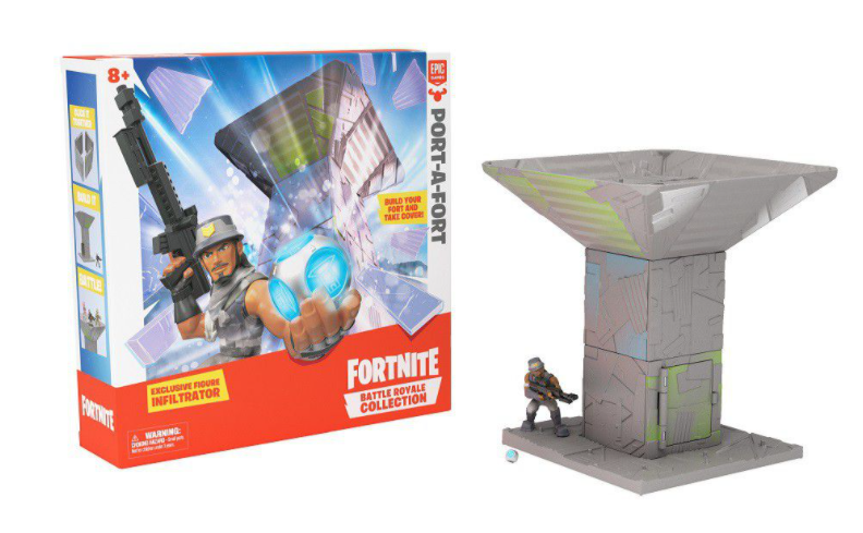 Fortnite Port A Fort Display Set