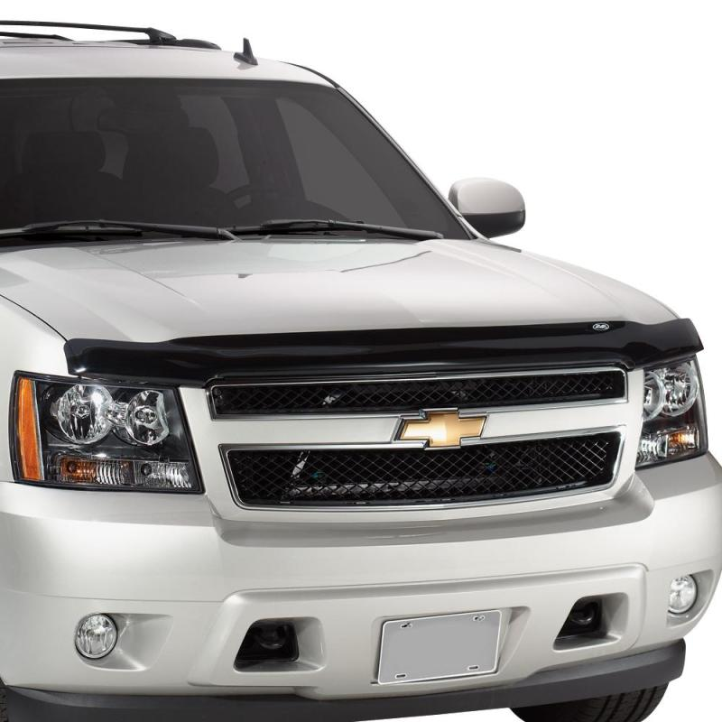 AVS 07-13 Chevy Silverado 1500 Bugflector Medium Profile Hood Shield - Smoke