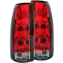Load image into Gallery viewer, ANZO 1999-2000 Cadillac Escalade Taillights Red/Smoke G2
